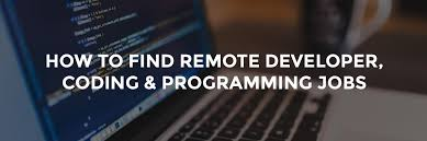 how to find remote developer coding programming multimedia developer jobs