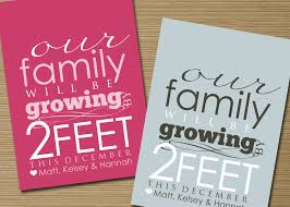 free ecard pregnancy announcement cute pregnancy announcements card design idea with gray and pink