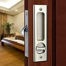 sliding door locks with key. CCJH Invisible Door Locks Handle With 3 Keys For Sliding Barn Wooden Furniture Hardware ( Key E