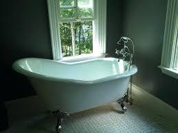 acrylic reversible drain oval slipper freestanding bathtub in black tub home depot canada n home depot freestanding