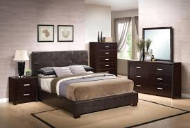 coaster andreas vinyl upholstered low profile bedroom set