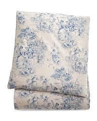 queen toile duvet cover indigo legacy home