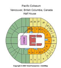 Berglund Center Seating Chart 64 Actual Pacific Coliseum Lady Antebellum Seating Chart
