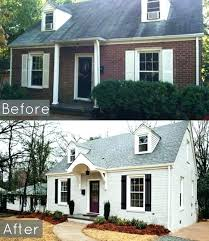 brick homes with shutter good brown painted brick houses home decor best  house colors ideas on