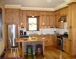 ... Large Size Modern Small L Shaped Kitchen Designs With Brown Wood Theme  ...