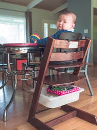 stokke tripp trapp high chair with a trofast storage