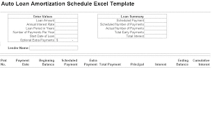 L Loan Amortization Schedule Excel Chart With Extra Payments