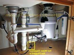 Kitchen Sink Plumbing Diagram With Garbage Disposal Diagram Double