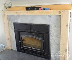 fireplace top cover how to cover your brick fireplace modern farmhouse style ideas