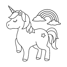 You should aim to make it as colorful as the real unicorn emoji is. Free Printable Printable Cute Unicorn Coloring Pages Novocom Top