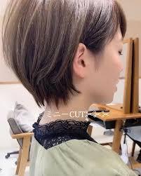 伊輪ショートボブ小顔毛束cut 美容師 さんはinstagramを