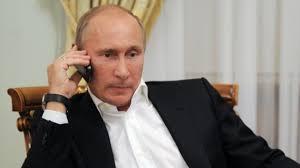 روسيا - بوتين يهاتف روحاني لبحث الأزمة السورية