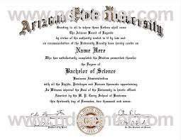 fake college diplomas university guide informative  arizona state university diploma