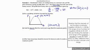 quadratic calculator s word problems part 1