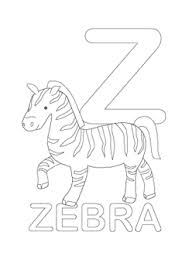 Small Picture alphabet coloring pages letter z jen Pinterest Worksheets