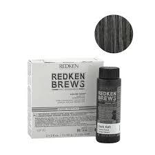 Redken Brews Man Color Camo Dark Ash 3x60ml Colorazione Uomo