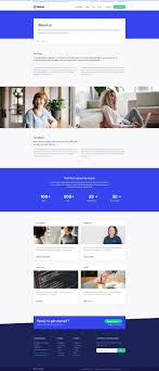 About Us Page Design For Website Quanto Creative Multipurpose Responsive Html Template
