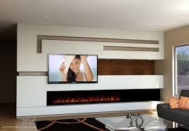 encouraging long fireplace plus a wall design trending choice dagr design in modern fireplace