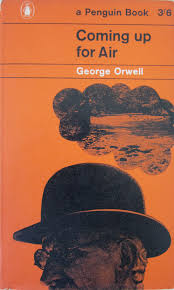 a penguin a week penguin no coming up for air by george orwell penguin no 1697 coming up for air