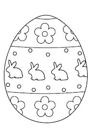 Free Printable Easter Egg Coloring Sheets Egg Color Pages Egg Hunt