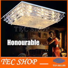 best lighting fixtures. Best Price JH Modern LED Rectangle Ceiling Lights Living Room Restaurant Crystal Light Lighting Fixtures Indoor Decoration-in From P