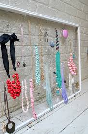 Jewelry Organizer Diy Diy Jewelry Organizer Loblollies Blog