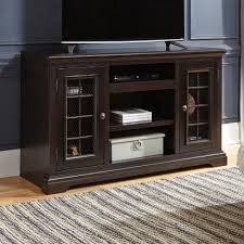 Ashley Furniture Willenburg LG TV Stand with Fireplace Audio
