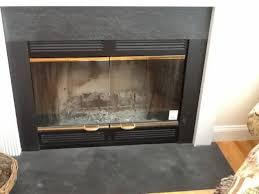 appealing fireplace replacement doors and replacement fireplace inserts before and after how to replace an