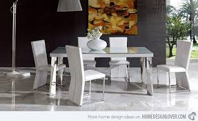 white modern dining chairs. Ultra-modern Interior White Modern Dining Chairs
