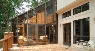 Enclosed deck ideas Backyard Solarium Patio Enclosures How To Enclose Patio Porch Or Deck