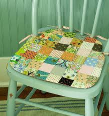 cushion kitchen chair cushions with ties silo tree farm co seat velcro uk country