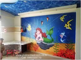 aquarium painting for kids room