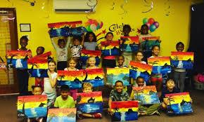 image kids parties painting