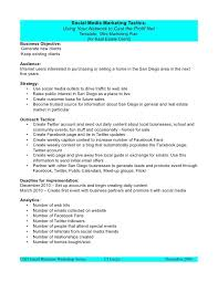 Facebook Outline Template Strategic Planning Proposal Template Strategic Proposal Template