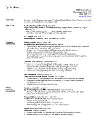 Elementary Teacher Resume Template Ideas Artxamples Sample Word Free
