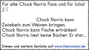 Für Alle Chuck Norris Fans Und Für Julia Tolle Sprüche