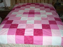 Simple Square Quilt Patterns Stunning Make An Easy Weekend Patchwork Quilt Topper 48 Steps With Pictures