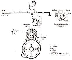 starter wiring diagram start solenoid wiring \u2022 wiring diagrams j starter wiring diagram chevy 350 at Starter Wiring Diagram