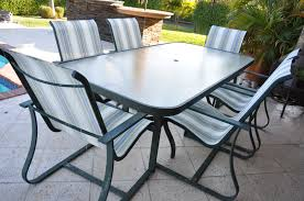 patio furniture 6 chairs and table designs