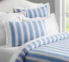 blue and white striped duvet cover. Wonderful White On Blue And White Striped Duvet Cover S
