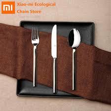 <b>Xiaomi</b> Huohou <b>столовые приборы</b> из нержавеющей стали ...