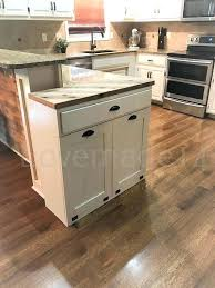 double trash bins double trash recycle bins rustic tilt out trash bin double wooden trash bins