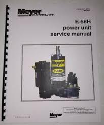 meyer snow plow pump service manual e 58h e58 h model w color flow image is loading meyer snow plow pump service manual e 58h