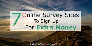 make money online archives passive income wise 7 online survey sites to join for extra cash