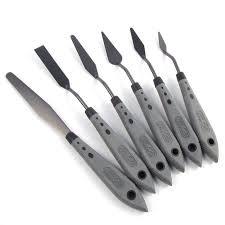 uxcell 5 piece painting knife set