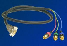 vga to component cables at blue jeans cable belden 1522a component cable hd15 plug and calrad rca plugs