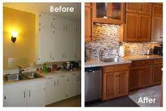 cabinet refacing before and after. Perfect Before Kitchen Cabinet Refinishing Job Before And After And Refacing Before After R