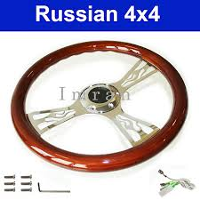 images vintage wooden steering wheel with chrome spokes