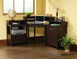 open shelves and keyboard tray small black corner desk style brown pertaining to small computer desk with keyboard tray