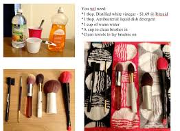 i ve always been aware that cleaning your makeup brushes is important but in practice i tend to slack on this a lot i recently read this article by